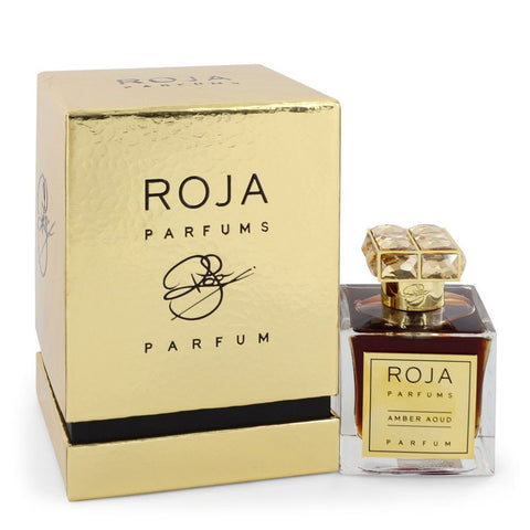 Roja Amber Aoud by Roja Parfums Extrait De Parfum Spray (Unisex) 3.4 oz for Women