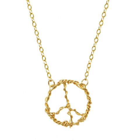 Anne Woodman Peace necklace