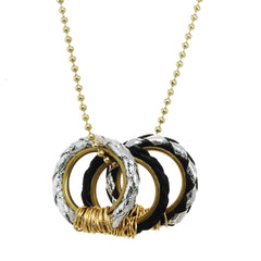 bolo rings necklace