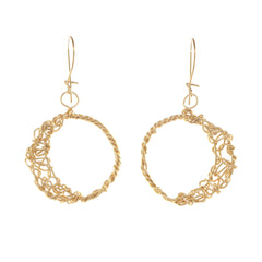 anne woodman moon earrings