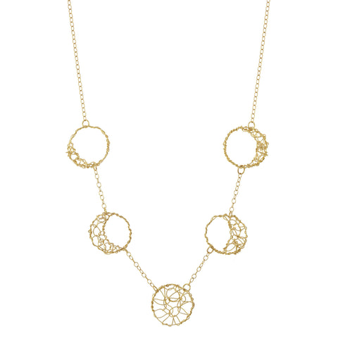 anne woodman moon phases necklace