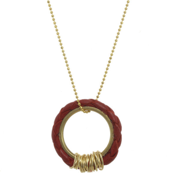 Bolo Ring Necklace