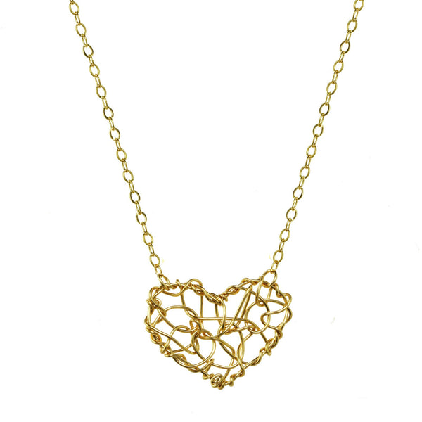 Chaos Heart Necklace