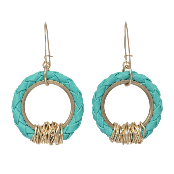 Bolo Ring Earrings