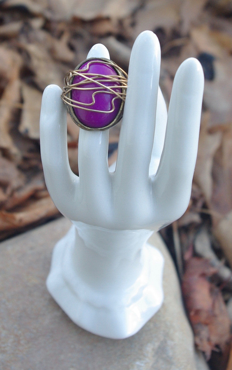 Purple Vintage Ring