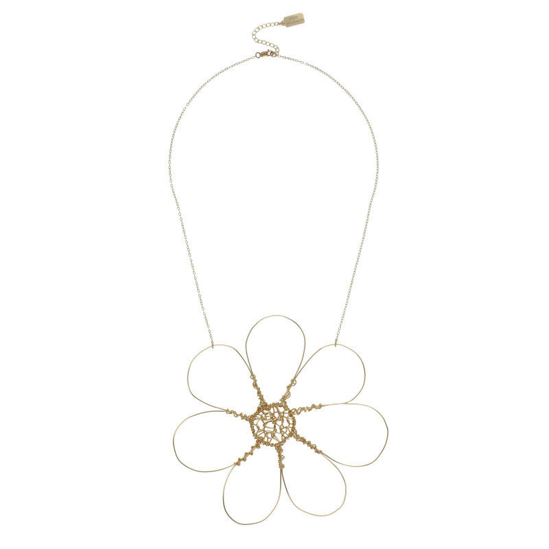 Large Daisy Necklace