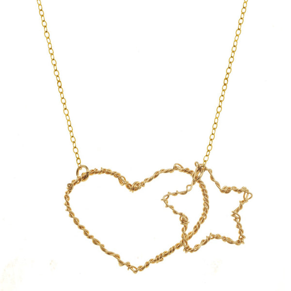 Heart / Star Necklace
