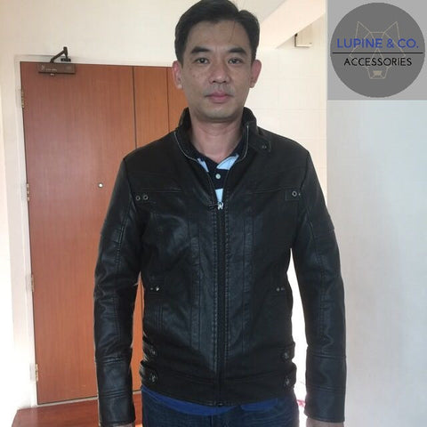 motorcycle leather jacket excellent quality