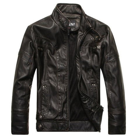 Lupine Leather Jacket - Iconic Black