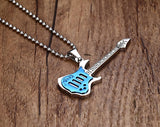 Strings Of Life necklace - Blue