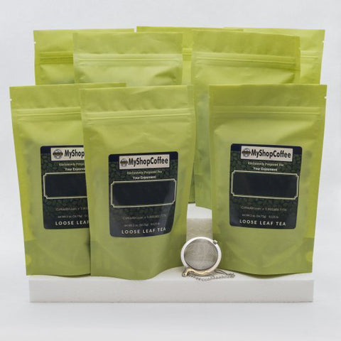 Gourmet Tea Sampler - My Shop Coffee
