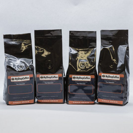 Organic Coffee Sampler - My Shop Coffee