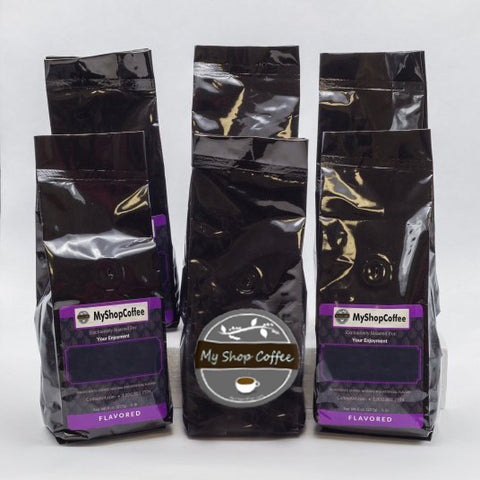 Exotic Flavored Coffee Sampler - My Shop Coffee