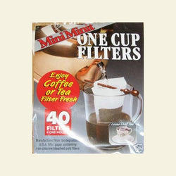Mini-minit Paper Filters ( 40 pk ) - My Shop Coffee