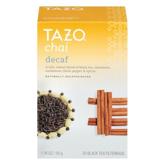 Tazo Decaf Chai Tea - My Shop Coffee