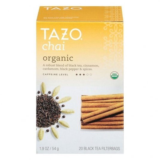 Tazo Organic Chai Tea - My Shop Coffee