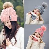 Winter Fashion Cotton Knitted Beanies Caps