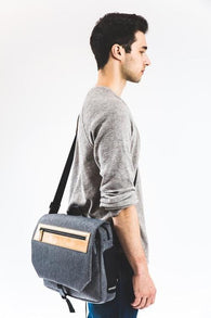 Street Messenger Grey