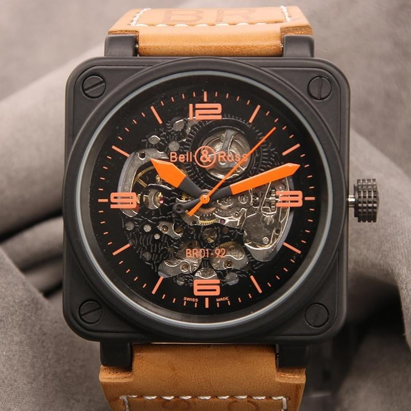 Mens Luxury Skeleton Military Automatic Watch - Dimension Dream Seekers