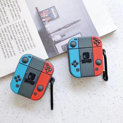 Cute 3D Game Earphone Case for AirPods Case Silicone Earbud Case for Airpods 2 Headphone Case for Apple Air Pods Cover with Hook