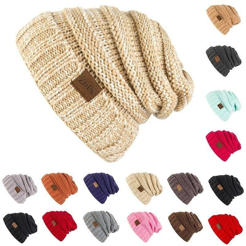 New Fashion Accessories Autumn Winter Knitted Hats