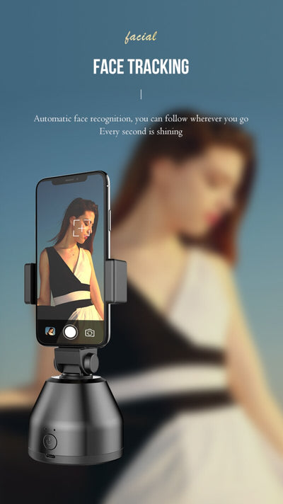 Selfie Stick Smart AI Gimbal Personal Robot Cameraman 360°Auto Rotation Face Tracking Mobile Phone Stand For IPhone IOS Android
