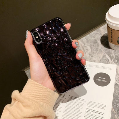 3D Dream Shell Plating Phone case