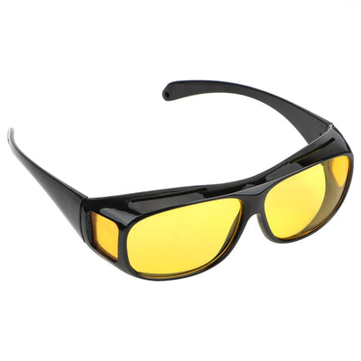 Unisex Night Vision Glasses + UV protection (Yellow)