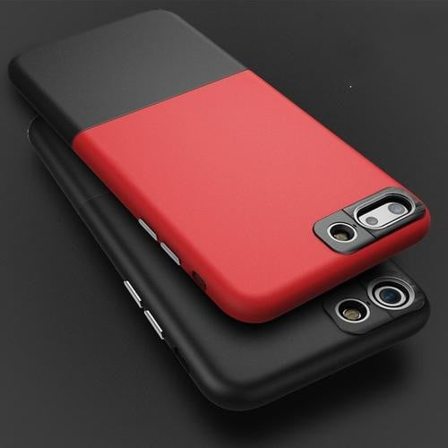 Color Block Protective iPhone Case