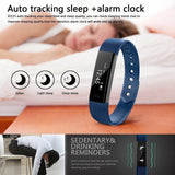Fitness Tracker Smart Bracelet  ID115 Bluetooth Self-Timer Smart Watch  Tracker
