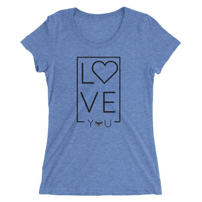 Women's LOVE Triblend Tee - Dimension Dream Seekers