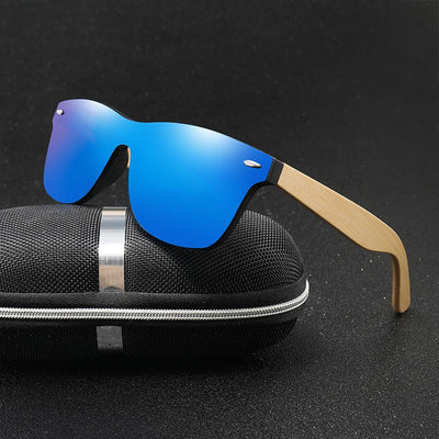 Bamboo Wood HD Polarized Sunglasses