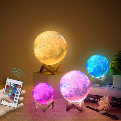 USB Rechargeable Moon Lamp