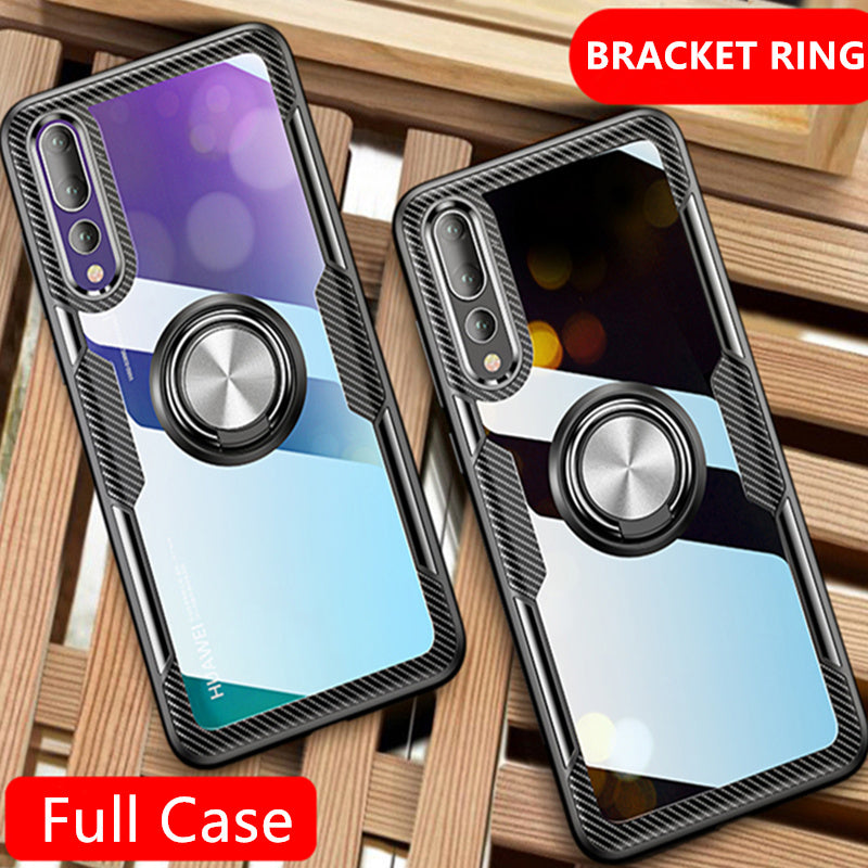 Shockproof Soft Phone Case With Ring