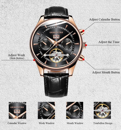 Relogio Masculino Automatic Watches - Dimension Dream Seekers