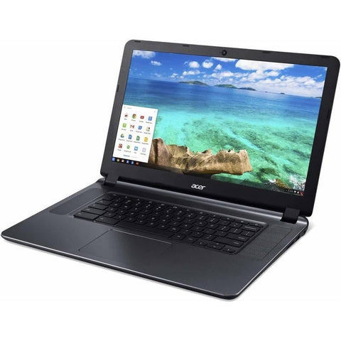 "Factory Recertified Acer Laptop, with a 15.6"" screen"