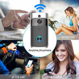 Intelligent Smart Wireless Home Doorbell