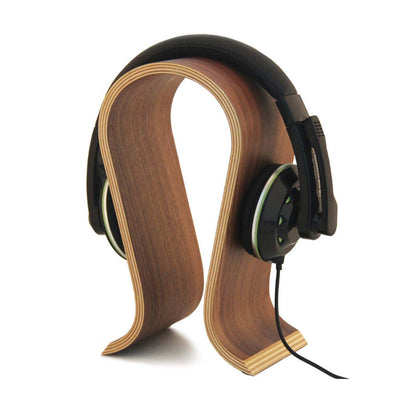 Universal U Shape Wood Headphone