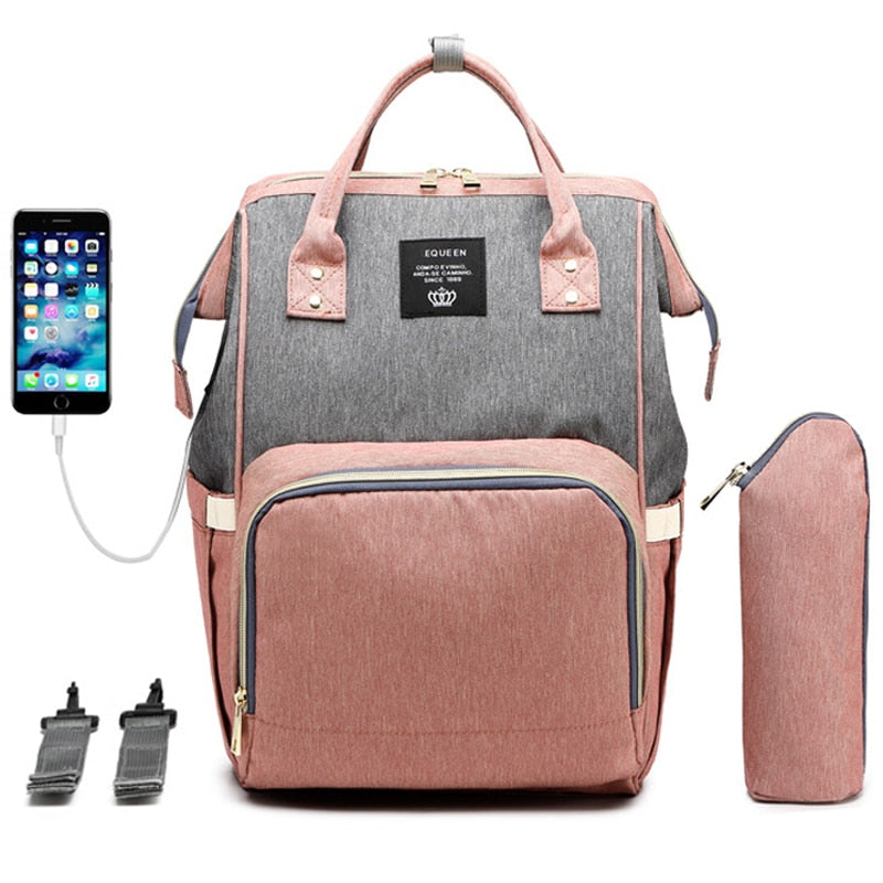 Mummy USB Diaper Bag