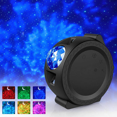 6 Colors LED Light Starry Sky Projector