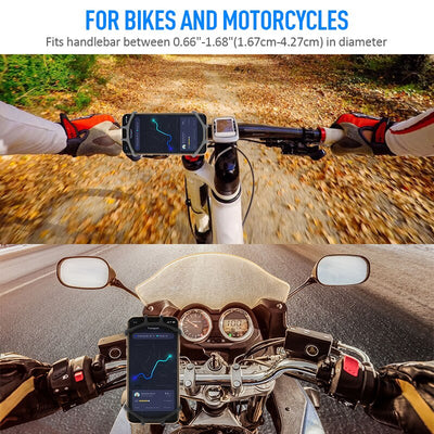 Bike Phone Holder Handlebar Stand Bracket