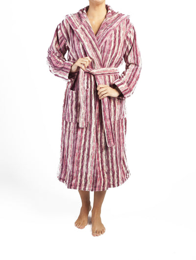 Pink Perth Bath Robe - Dimension Dream Seekers