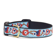 Big Poppy Dog Collar - Dimension Dream Seekers