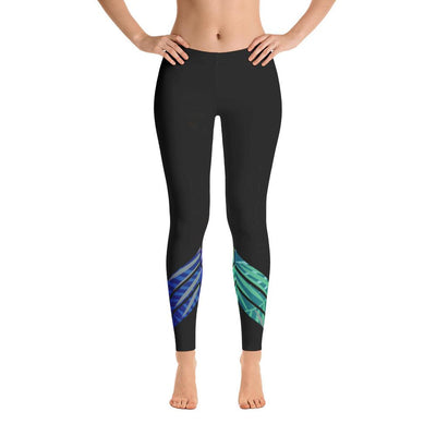 All Day Comfort Venture Pro Carbon Leaf Leggings - Dimension Dream Seekers