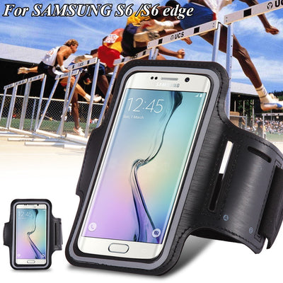 Samsung Galaxy s3 S4 S5 S6 S6 EDGE 4.2-5 inch Sport Running Armband Bag Cases