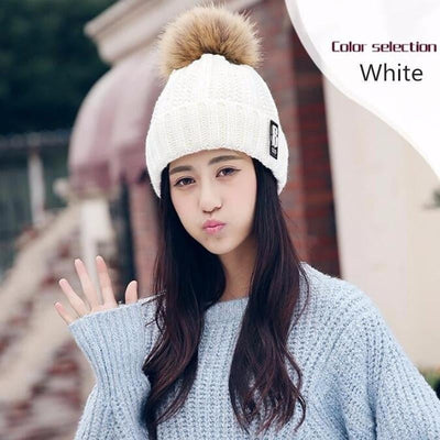 Winter Fashion Cotton Knitted Beanies Caps - Dimension Dream Seekers