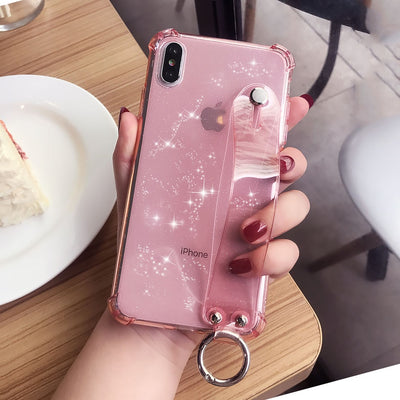 Glitter Powder Holder Phone Case For iPhone