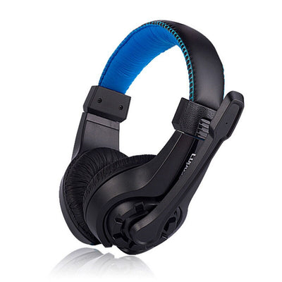 Wired Headset with Adjustable Microphone