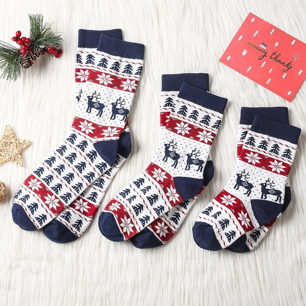 Children/Adult Christmas Socks