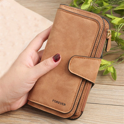 Snap Card Holder Women Wallet